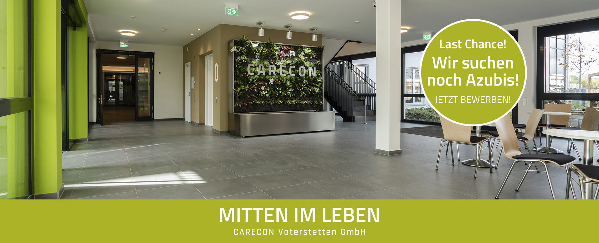 Neubau GreenWall Home + Azubi 2